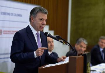 Foto: Efraín Herrera - SIG. Presidencia de la República.