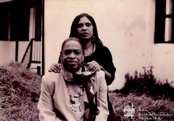 Edelmira Massa Zapata y su madre Delia Zapata Olivella / Foto: Fundación Instituto Folclórico Colombiano Delia Zapata Olivella.