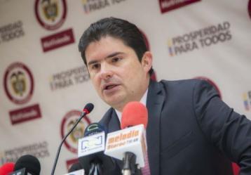 Ministro de Vivienda, Ciudad y Territorio, Luis Felipe Henao Cardona. Foto: Archivo MinVivienda