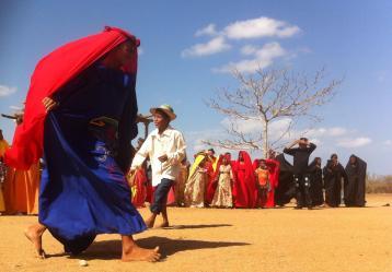 Imagen de la comunidad Wayúu Foto: Andreiza Anaya   Radio Nacional de Colombia