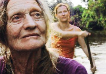 Imagen póster oficial de la película Ámazona'.