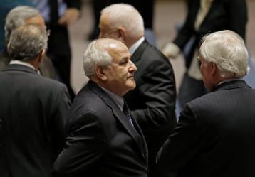 Foto: El embajador palestino ante las Naciones Unidas, Riyad Mansour EFE