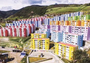 Vista general de los conjuntos San Luis y San Sebastián en Pasto. Foto: Diego Burgos.