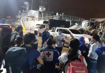 Foto: Twitter Cruz Roja Colombiana.