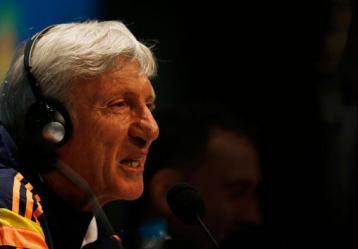 El técnico de la Selección Colombia, José Pekerma. Foto: Twitter @FCFSeleccionCol