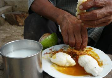 Alimentación de los pueblos indígenas. Foto: ONIC