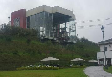El Cable pretendía activar el turismo en el Ecoparque Los Yarumos. Foto: Ana María Mesa.