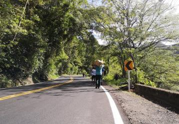 Foto: Camino del migrante.