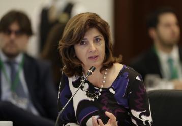 Canciller María Ángela Holguín. Foto: cancilleria.gov.co