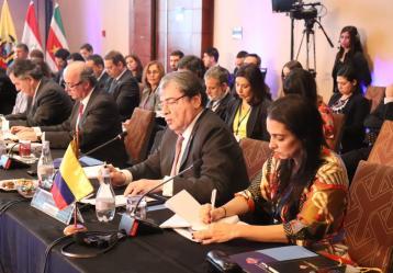 Foto: Cancillería | Ministerio de Relaciones Exteriores