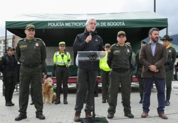 Foto: Twitter Alcaldía de Bogotá.