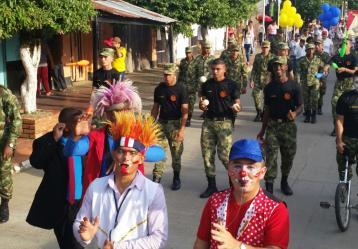 Foto: Quinta Brigada, Ejército Nacional