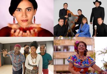 Fotos: Colprensa y Facebook Artistas.