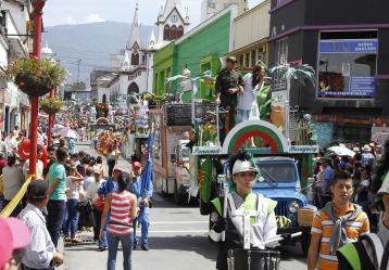 Desfile de Feria de Manizales. Foto: Archivo Colprensa