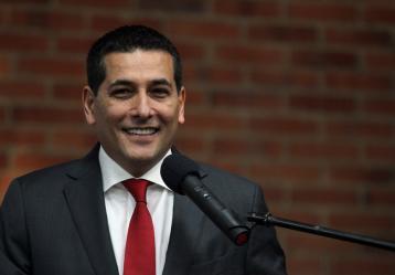 Dumek Turbay, gobernador de Bolívar. Foto: Colprensa