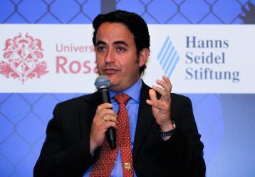 Christian Krüeger Sarmiento, director de Migración Colombia. Foto: Colprensa - Diego Pineda.
