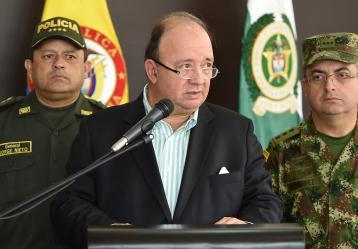 Luis Carlos Villegas, ministro de Defensa. Foto: Colprensa
