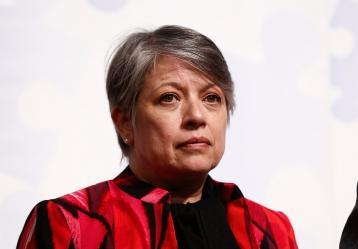 María Paulina Riveros, vicefiscal general. Foto: Colprensa