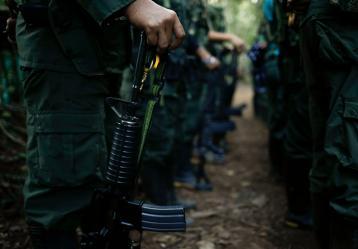 La entrega del armamento físico iniciará con un primer 30% el 1 de marzo cuando los 137 integrantes del Mecanismo de Monitoreo y Verificación recibirán estas armas. Foto: Colprensa