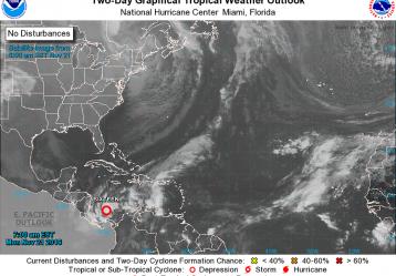 El Ideam informó que en las últimas horas en el occidente de Mar Caribe, se ha formado una depresión tropical que podría incrementar los vientos en el norte del país. (Colprensa - Externos)