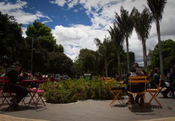 Foto: Parque de la 93 - Colprensa.