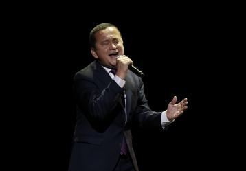 El cantante vallecaucano Yuri Buenaventura. Foto. Colprensa. Mayo 2017