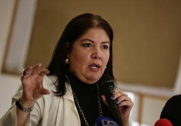 Alejandra Barrios, directora de la MOE. Foto: Colprensa 2017.