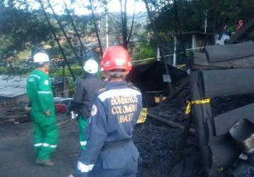Gobernación de Cundinamarca por medio del sistema departamental del riesgo indicó que tras las explosiones que se dieron en minas del municipio de Cucunubá, son 8 los mineros muertos, 5 más que están desaparecidos y uno herido. Foto: Colprensa.
