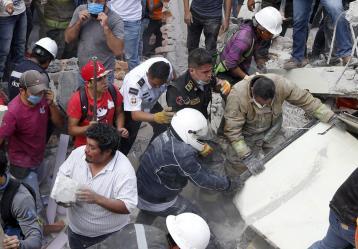 Foto Colprensa-Agencia Xinhua. Septiembre de 2017.