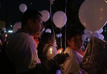 Bogotá es la ciudad con la mayor presencia de víctimas en el país. Foto: Colprensa.