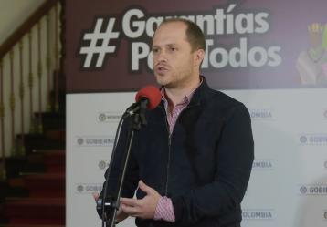 Viceministro del Interior, Héctor Olimpo Espinosa / Foto: Colprensa.