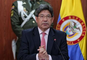 Magistrado Alejandro Linares, presidente de la Corte Constitucional. Foto: Colprensa. Julio de 2018.