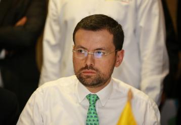 Luis Carlos Velásquez Cardona, Gobernador de caldas. Foto: Colprensa