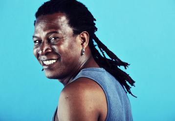 Charles King, uno de los más fieles representantes de África en Colombia. Foto: Colprensa - Señal Colombia.