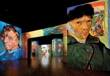 Foto: Colprensa - Cortesía de Van Gogh Alive