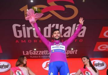 El ciclista antioqueño Fernando Gaviria. Foto: Colprensa - Quick Step Floor.