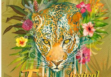 Afiche del Festival Jaguar en su quinta edición. Foto: Colprensa. Diciembre 2017.
