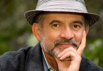 """""""Hoy se hace un teatro más de autor, más allá de lo político"""": Jairo Camargo, actor colombiano en Radio Nacional de Colombia. Foto: Colprensa. marzo 27."""