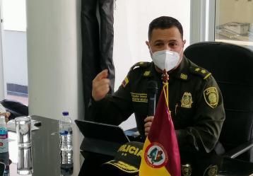 Director del INPEC, general Norberto Mújica. Foto: Colprensa.