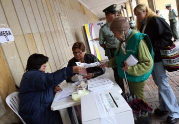 Foto: Gracias al Acuerdo de Paz con la Farc, 177 municipios del país salieron de su estado de riesgo electoral / Colprensa.