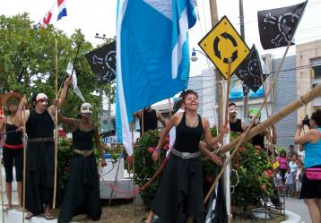 Festival Internacional de Teatro 'Ethnic Roots'. Foto: Colprensa