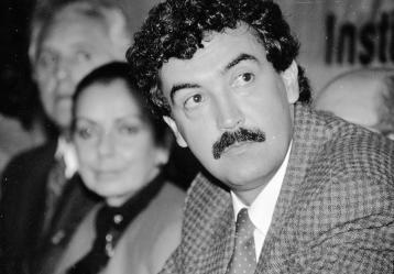 Bernardo Jaramillo Ossa, candidato presidencial y líder de la Unión Patriótica asesinado el 22 de marzo de 1990. Foto: Colprensa.