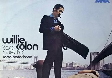 Portada del álbum 'Cosa nuestra' de Willie Colón y Héctor Lavoe.