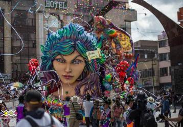 Foto: Twitter Carnaval de Negros y Blancos