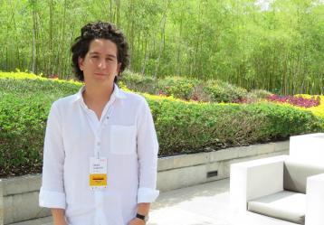 """Daniel Alarcón dictará el taller """"Periodismo narrativo en audio"""" en esta edición del Premio Gabriel García Márquez."""