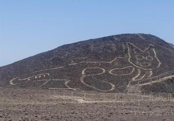 Fotografía cedida hoy por el Ministerio de Cultura de Perú
