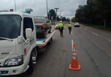 Foto: Policía Transito de Bogotá