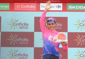 Foto: Twitter La Vuelta