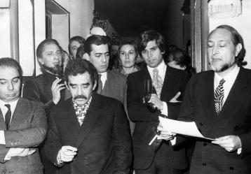 El nobel colombiano Gabriel García Márquez / Foto: EFE Cortesía Banco de la República