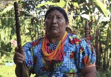 Foto de referencia, Embera Chami
